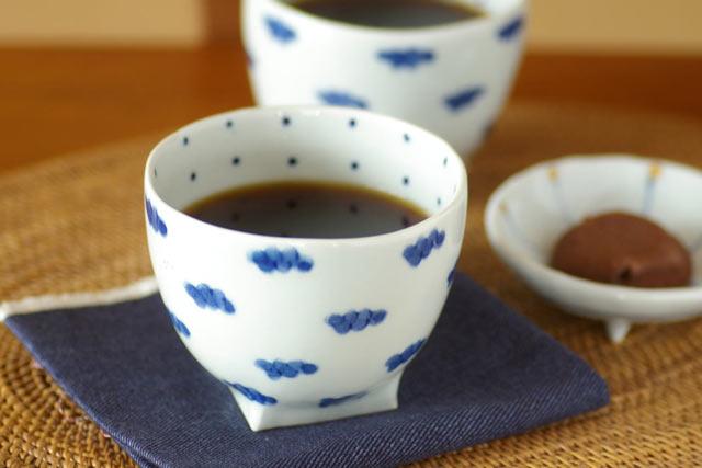 和食器・砥部焼 雲柄のフリーカップ