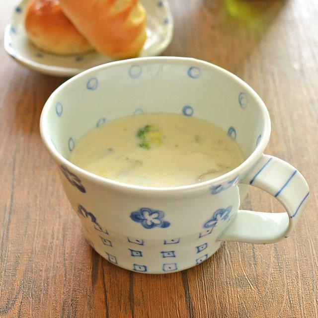 和食器・砥部焼 スギウラ工房のスープカップ