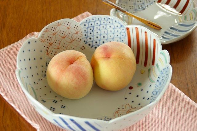 【砥部焼 陶房遊】彩り紋の大鉢