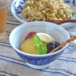 和食器・砥部焼 とびかんなのスープカップ