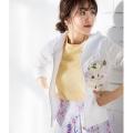 リラクシーで可愛いフラワー刺繍パーカーtocco closet(トッコクローゼット) Collection 泉里香さんはオフホワイト着用 《Flower & Lace Fair》