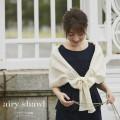 プチパール装飾エアリーショール 【airy-shawl エアリーショール】 tocco closet(トッコクローゼット) Collection