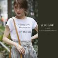 バックシャンな英字プリントTシャツ 【areasn アリスン】 tocco closet (トッコクローゼット) Collection