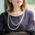 ビジューつき3WAYドッキングパールネックレス 【b3w-necklace】 tocco closet(トッコクローゼット) Collection
