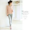 花柄ジャガードチュニック&フルレングスパンツ 2013 tocco Room Wear Collection☆ 【carlota カロータ】