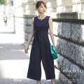 フロントリボンヨークレースサロペット 【chelea チェレア】 tocco closet (トッコクローゼット) Collection