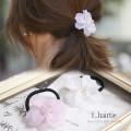 マットフラワーモチーフヘアゴム 【f_hairtie】 tocco closet (トッコクローゼット) Collection