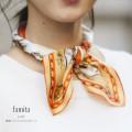 馬車プリントシルクスカーフ 【famita ファミータ】 tocco closet(トッコクローゼット) Collection