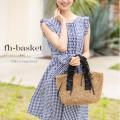 フリルハンドルカゴバッグ 【fh-basket】 tocco closet(トッコクローゼット) Collection  オンライン限定販売