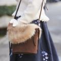 冬のお出かけが一層楽しくなるファーカバーつきバケツ型バッグ 【fur-bucket】 tocco closet(トッコクローゼット) Collection ※オンライン限定販売