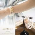 ゴールドフラワービジューブレスレット 【b-bracelet】 tocco closet (トッコクローゼット) カタログ