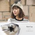 チュールがけニットキャップ 【knit_cap】 A Wonderful Time カタログ 垣内彩未さんはホワイトを使用