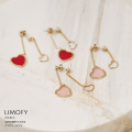 sweetな気持ちになれるクリアハートピアス6月12日(金)再販決定☆【limofy リモフィー】tocco closet(トッコクローゼット) Collection≪2020 Accessories Collection≫