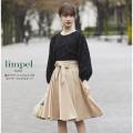 春モテサッシュベルトつきギャザーフレアスカート 【limpel リンペル】 tocco closet (トッコクローゼット) Collection