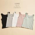 インナーまでレディに♪レース付きリブタンクトップ【lumis ルミス】tocco closet(トッコクローゼット) Collection