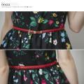 クラシカルムードなリボンバックル細ベルト 【nocca ノッカ】 2017 tocco closet(トッコクローゼット) Collection
