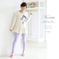 りぼんモチーフ付きペプラムトップス&レギンス 2013 tocco Room Wear Collection☆ 【noeria ノエリア】