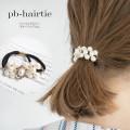 パール×ビジューモチーフヘアゴム 【pb-hairtie】 tocco closet (トッコクローゼット) Collection