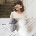 ファー×パールピアス 【pierce】 A Wonderful Time カタログ 垣内彩未さんはホワイトを使用