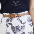 こっくりカラーでメリハリを効かせて。フェイクレザーベルト【pucila プシーラ】tocco closet(トッコクローゼット) Collection