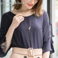 パールY字ロングネックレス 【pyl-necklace】 tocco closet (トッコクローゼット) Collection