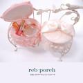 りぼんつきサークルバニティポーチ  7月14日再販決定☆ 【rcb-porch】 tocco closet (トッコクローゼット) Collection
