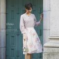 胸キュンな女の子スタイル♪フラワープリントラップフレアスカート 【ritame リターム】 tocco closet(トッコクローゼット) Collection