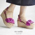 リボンモチーフコルクウェッジサンダル 【rm-sandals】 tocco closet(トッコクローゼト) Collection