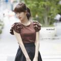 たっぷりぼんで愛らしい肌透けトップス 【ruminel ルミネル】 tocco closet(トッコクロゼット) Collection