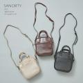 2WAYスクエアミニショルダーバッグ【sanorty サノティ】 tocco closet(トッコクローゼット)