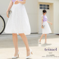 大人の余裕香るフラワーストライプレーススカート 【teimel ティーメル】 tocco closet(トッコクローゼット) Collection