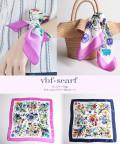 ヴィンテージ風ボタニカルフラワー柄スカーフ 【vbf-scarf】 tocco closet (トッコクローゼット) Collection
