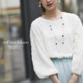2連使いお花モチーフロングネックレス 【wf-necklace】 tocco closet (トッコクローゼット) Collection