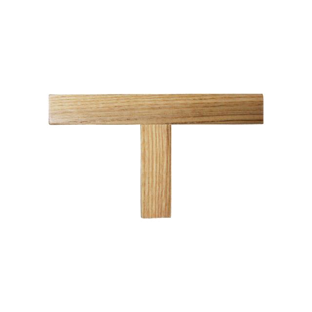 印材 印矩 木製〈白〉T 型