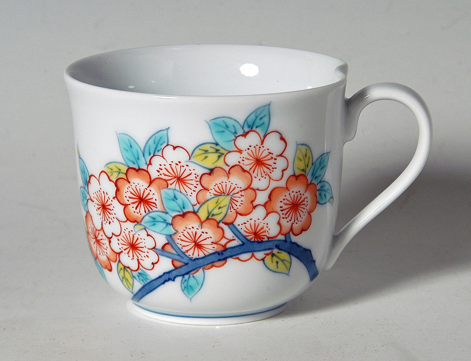 なぶりマグカップ−山桜