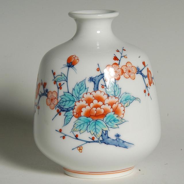 福形花瓶—牡丹梅