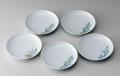 19cm和皿−鍋島五種絵変り