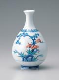 徳利形(小)花瓶−松竹梅