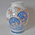 新胴花瓶−御所車桜