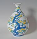 徳利形花瓶-橘