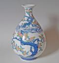 徳利形花瓶-木犀(もくせい)