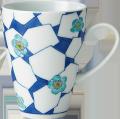 立ちマグカップ - 青梅氷文