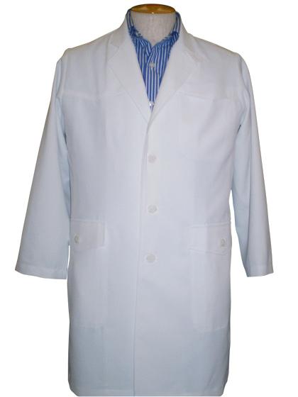 フルダル静電ストレッチツイルドクターコート(男性用)