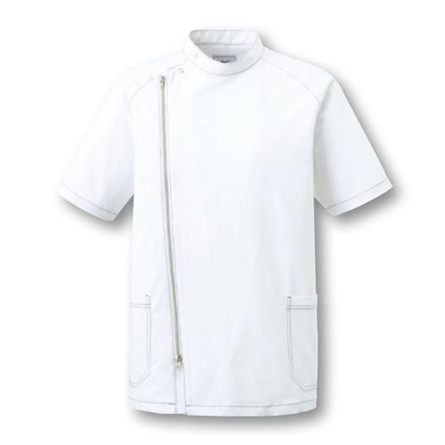 ミズノ メンズジャケットホワイト(MZ-0066_C-1)