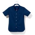 ユニフィット 半袖ニットシャツ (レディス) UF8435