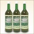 どくだみ新鮮生葉搾り液100%(720mL3本セット)
