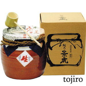 越乃景虎 「甕詰」 純米しぼりたて 1800ml 化粧箱入