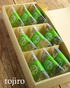 凍らせて食べる越の梅 「青梅氷り」 9個セット 化粧箱入