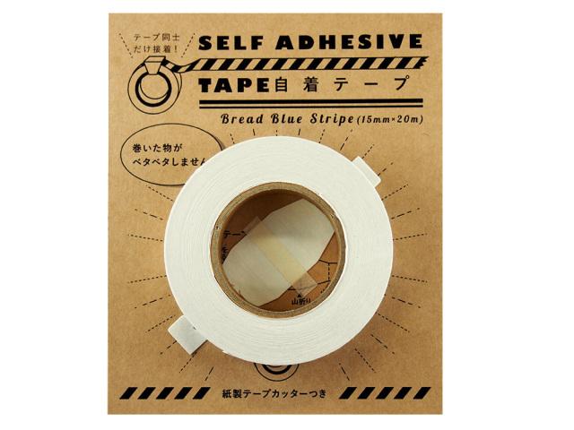 紙自着テープ15mm幅パン柄パッケージ