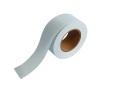 紙自着テープ 25mm幅 青グリッド柄